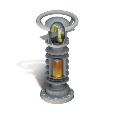 Комбинированный оптический трансформатор тока